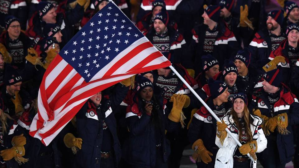 Резултат с изображение за winter olympics 2018 usa
