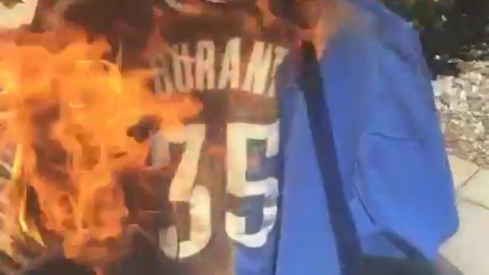 ben roethlisberger jersey burned
