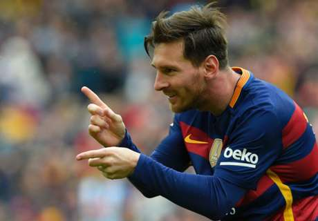 Messi returns early for Barca