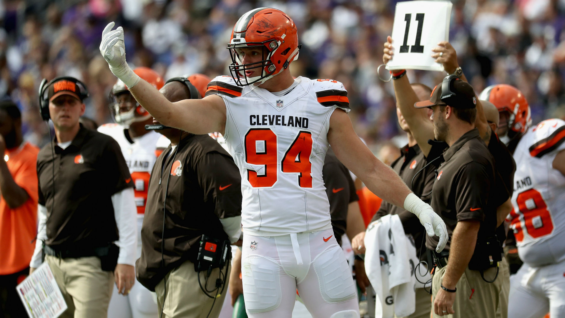 NFL free agency news: Browns waive 'Hard Knocks' standout Carl Nassib