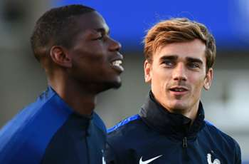 Pogba hails 'brother' Griezmann as Manchester United speculation continues