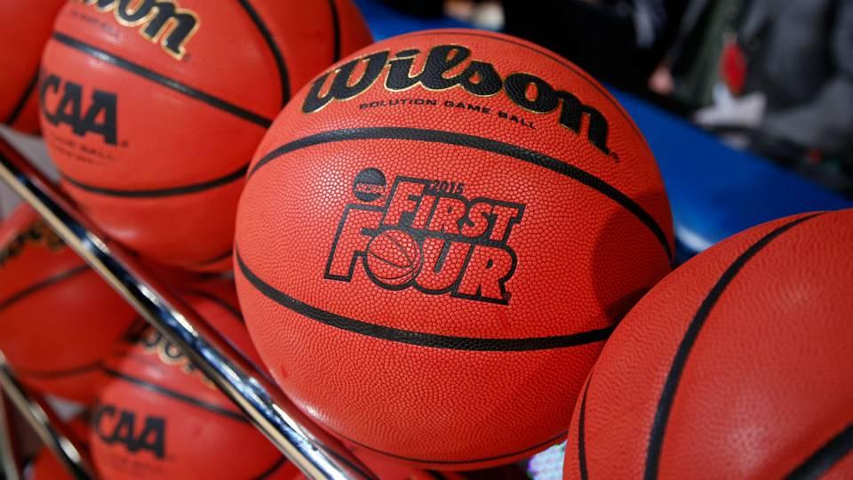 NCAA First Four logo basketball
