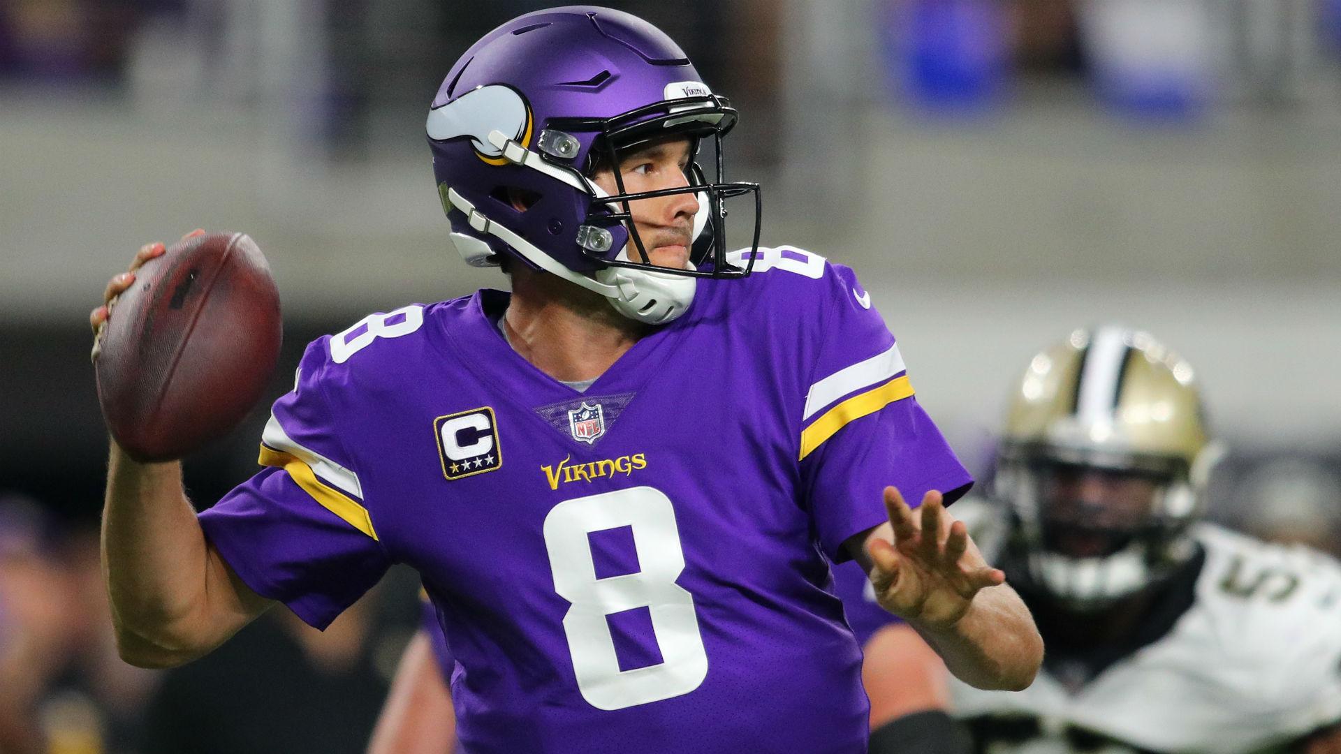 Vikings' Mike Zimmer: Sam Bradford aggravated knee injury