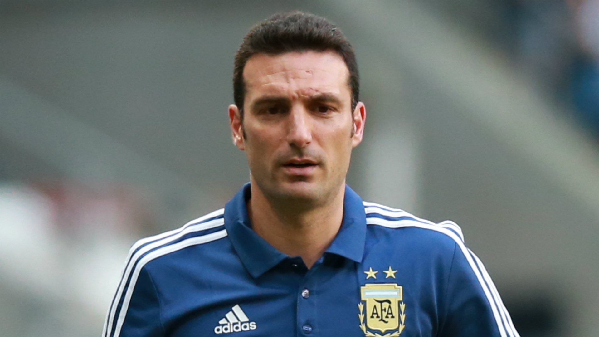 Argentina coach Scaloni says pressure his side are under leaves them having to 'play a war'
