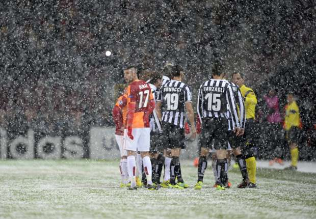 Galatasaray-Juventus to kick off at 14:00CET as planned