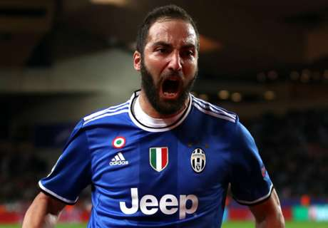Higuain admits to CL shortfall