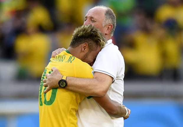 Neymar praises Scolari for hiring psychologist