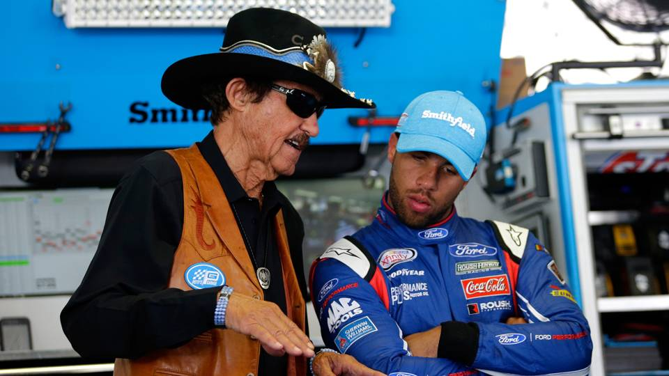 Richard Petty on Bubba Wallace's rookie season: 'I think we will all get better'