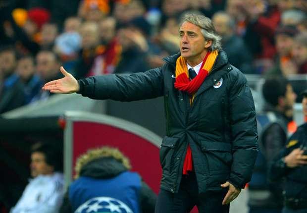 Galatasaray-Coach Roberto Mancini hatte gegen Sivasspor wenig zu lachen
