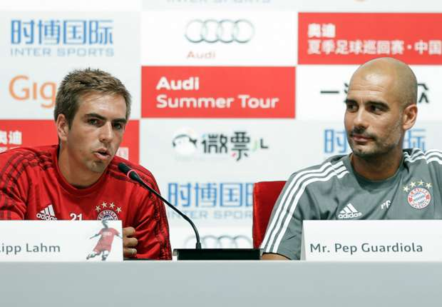 Lahm a true Bayern legend - Guardiola