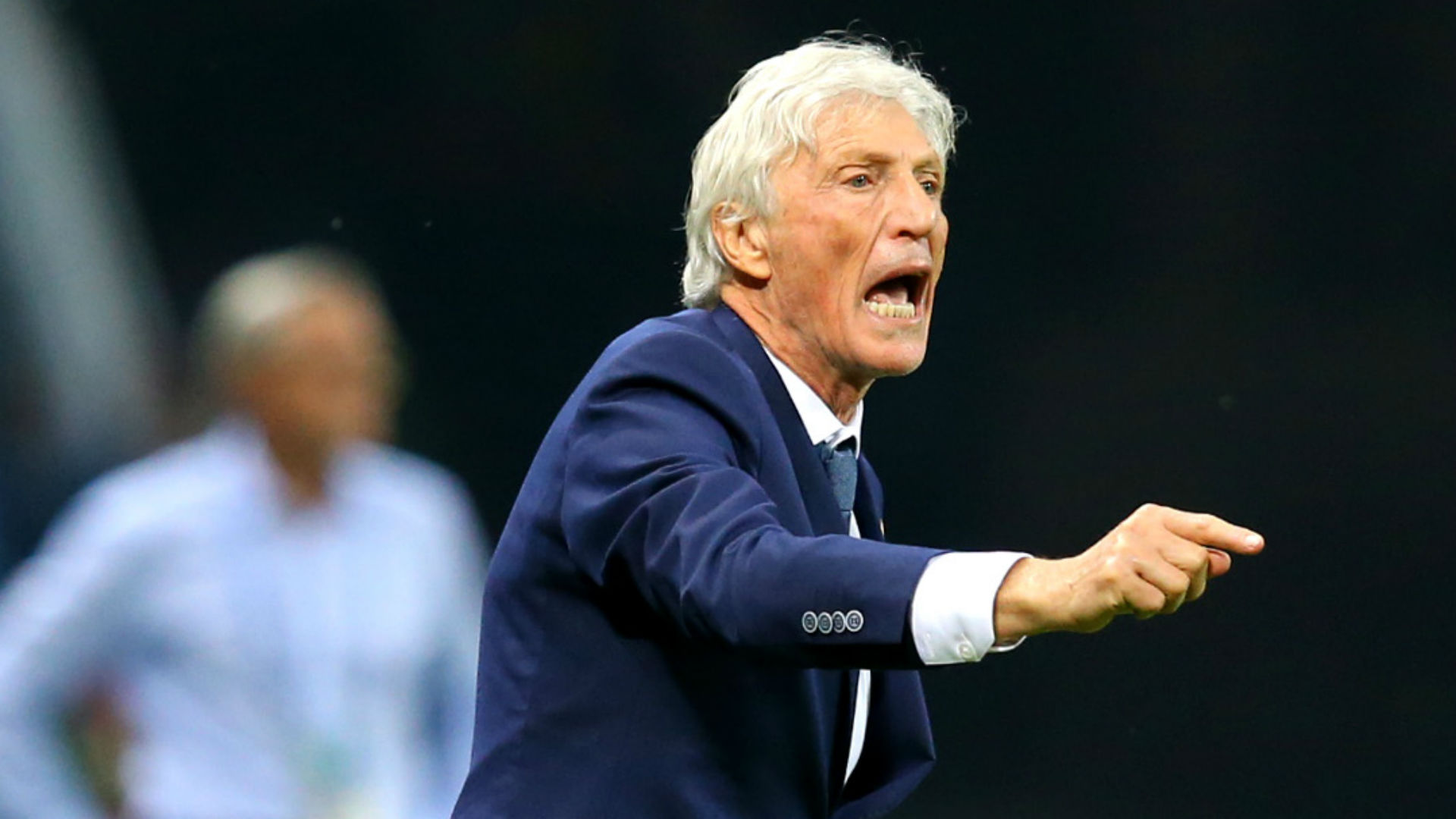 Colombia's Pekerman wary of confident England in last 16