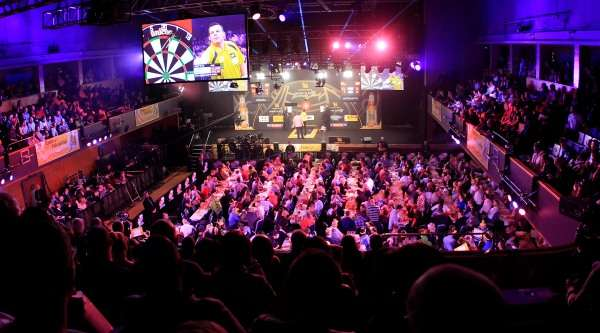 grand slam of darts winners