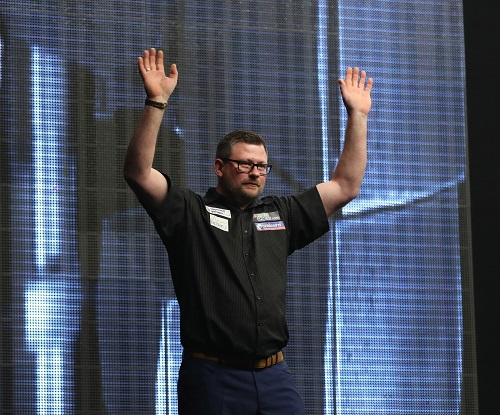 James Wade - Betway Premier League, Rotterdam (Lawrence Lustig, PDC)