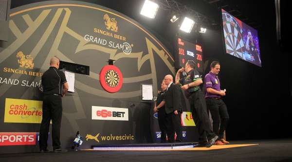 grand slam of darts fixtures