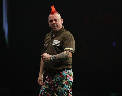 Peter Wright - Betway Premier League, Rotterdam (Lawrence Lustig, PDC)