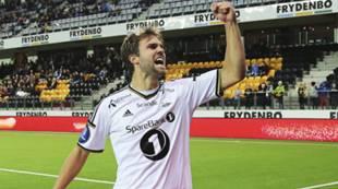 Jørgen Skjelvik jubler, Start - RBK