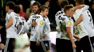 Jubel etter scoring mot Vålerenga