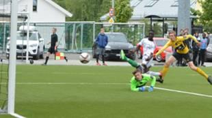 Franklin Nyentue scorer mot Start