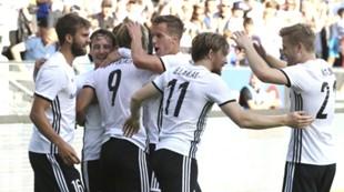 Jubel etter scoring, RBK - Apoel, kvalifisering Champions League