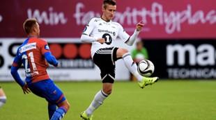 Stamnestrø i sin debut mot Sandefjord 26.07.15