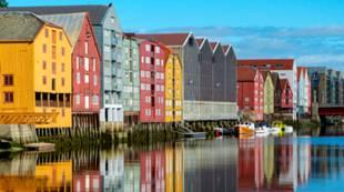 Bryggerekka Nidelva, Trondheim