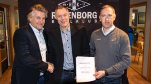 Harald Lundemo, salgssjef RBK; Roger Hansen, daglig leder Møller Bil Trondheim; Bjørn Kottum, salg- og partneransvarlig, RBK