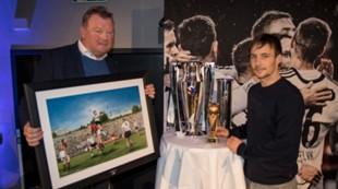 Victor Andersen, Posisjon og Mike Jensen får pris som årets partner og årets spiller
