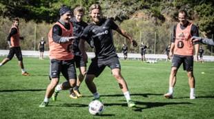Mike Jensen og Christian Gytkjær, Treningsleir Marbella