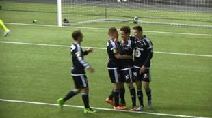 Magnus Stamnestrø har scoret mot Kristiansund i Abrahallen