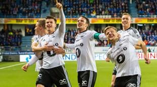 Jubel etter 3-1 i Molde