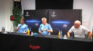 Pressekonferanse RBK-Apoel