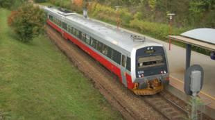 NSB - tog Steinkjer