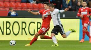 Mike Jensen mot Austria Wien