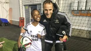 Tore Reginiussen på Fotball etter skoletid