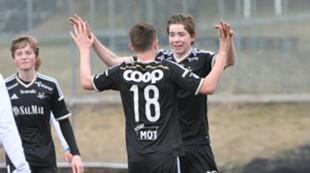 Feiring jubel U19 Patrick Strand