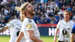 Christian Gytkjær etter scoring mot Stabæk