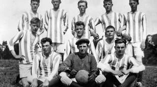 1923 - Odd (Rosenborg), ifb med kamp mot Frem Tempe (seier 2-0), Tempebanen, RBKs arkiv nettversjon