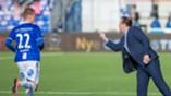 Geir Bakke og Tveita i kamp mot Viking på Sarpsborg stadion 24. september