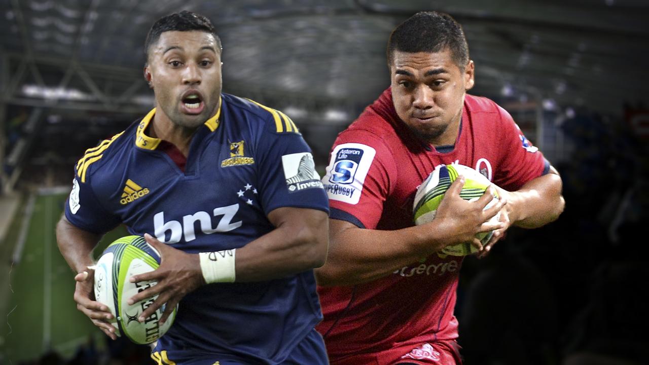Super Rugby. highlanders v Reds