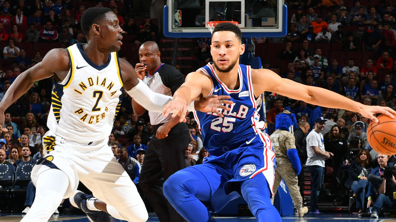 76ers reach winning record for first time in 4 years
