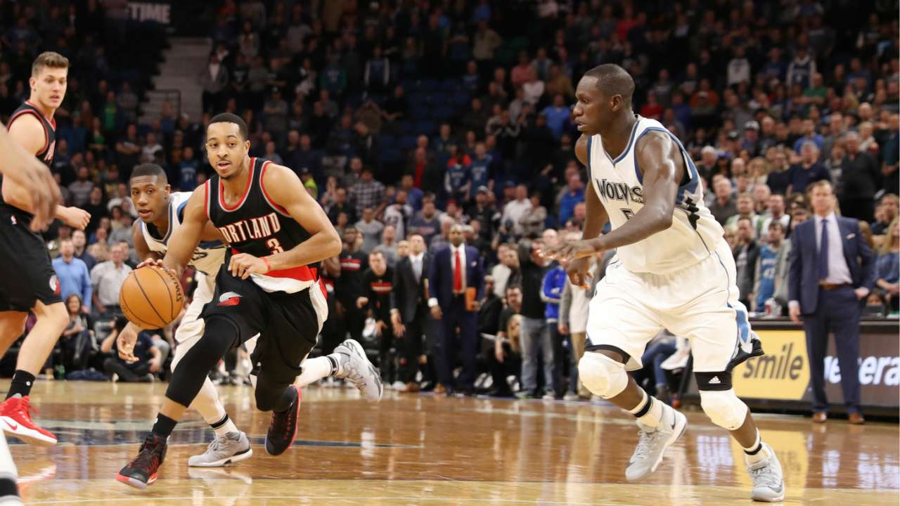Blazers, Timberwolves play three times in 12 days starting Sunday (AEDT)