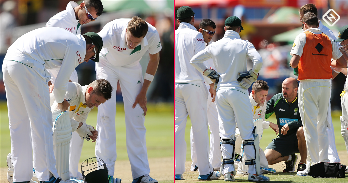 Hosts South Africa keep Aussies in check
