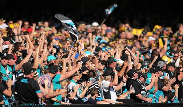16:9.  Port Adelaide Power and the Richmond Tigers