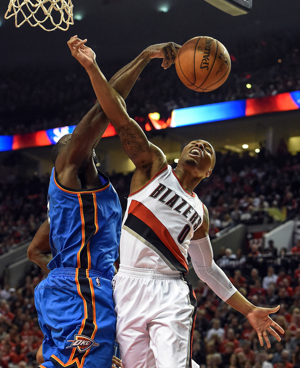 In Pictures: Portland Trail Blazers V Oklahoma City