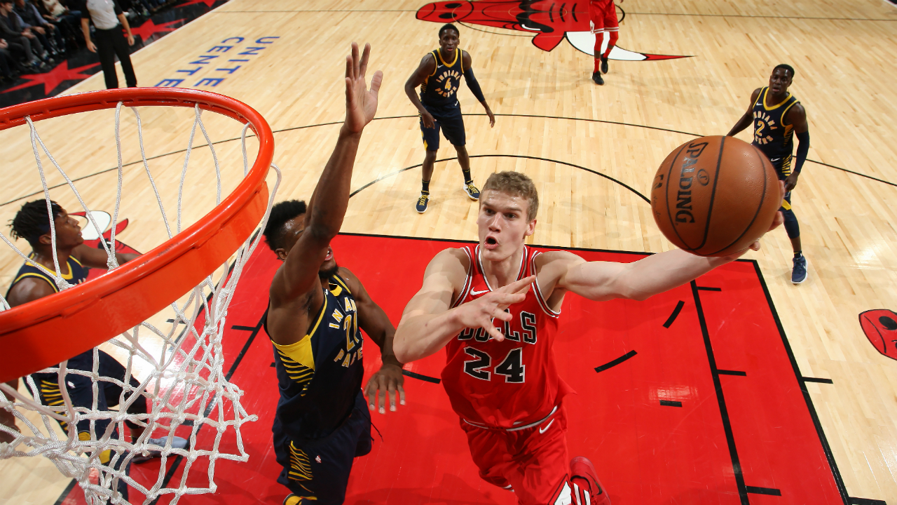 Pacers clean up Bulls in Chicago, 105-87