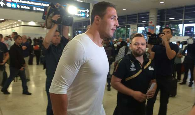 Sam Burgess airport