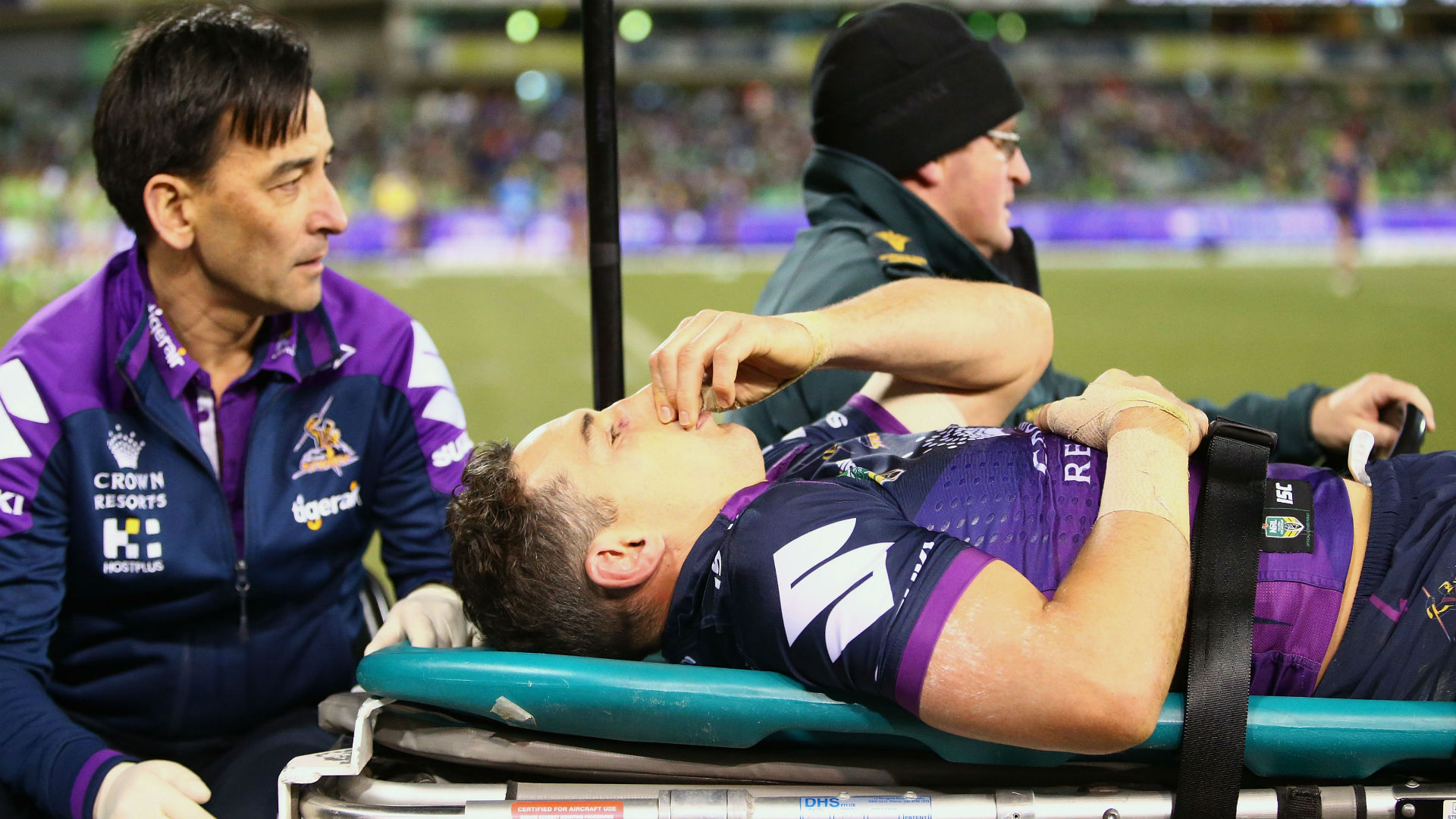 Smith injury concern just storm in tea cup