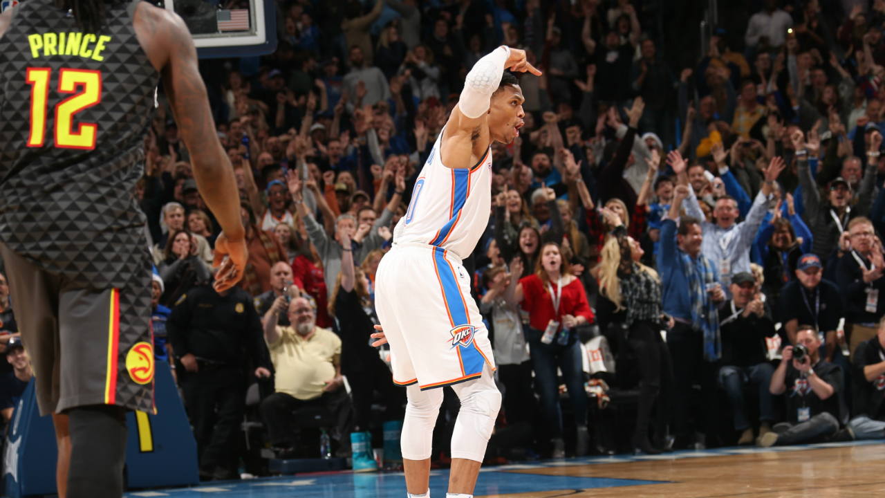 Russell Westbrook Hits Game-Winner In 30-Point, 15-Assist Performance