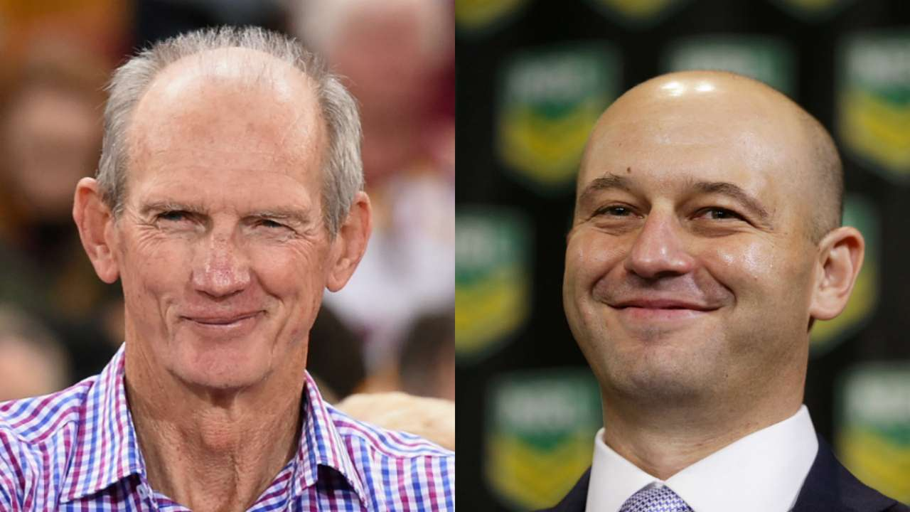 Todd Greenberg admits Brisbane Broncos bias after NRL draw release, Panthers angry