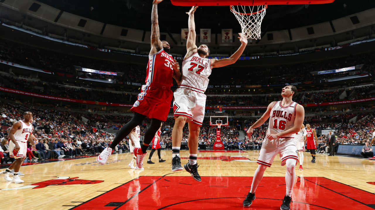 Jahlil Okafor (knee) won't play as 76ers battle Bulls